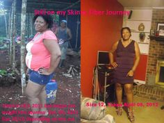 Dana found her motivation and joined the Skinny Body Challenge. Look at the progress she has made. Thanks to Skinny Fiber!!!! Way to go Dana.