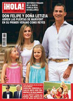 Esta semana en ¡HOLA!, excepcional reportaje de la nueva Famila Real