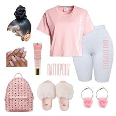 baddie outfits for rainy day Swag Outfits For Girls, Boujee Outfits, Cute Swag Outfits, Teenage Girl Outfits, Cute Comfy Outfits, Cute Outfits For School, Teen Fashion Outfits, Dope Outfits, Girly Outfits