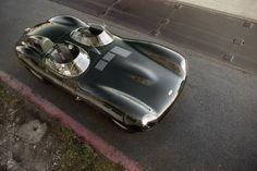 Jaguar D-Type - Silodrome