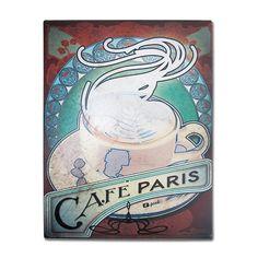 Placa Café Nouveau