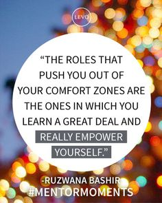 #Inspiration | #MentorMoments from #LevoLeague: Ruzwana Bashir, CEO & Founder, Peek