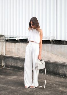It's no mystery by now that white clothing is particularly worn and portrayed during summer months. Conveying the endless holiday vibe and a sense of freedom and escape.
