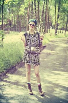 one of the top cool fashion girls