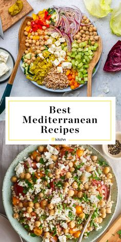 Our 10 Most Popular Mediterranean Recipes of 2019 These were the Mediterranean-inspired recipes from the past year that readers loved most. Easy Mediterranean Diet Recipes, Mediterranean Dishes, Mediterranean Quinoa Salad, Meditteranean Recipes, Dinner Salads, Diet Meal Plans, Meal Prep, Snack, Dinner Recipes