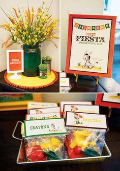 "Vintage Fiesta First Birthday Party ""First Fiesta"" too cute"