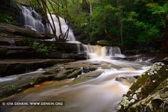 Lower Somersby Falls by Ilya Genkin on - Lower Cascades of Somersby Falls after Rain, Brisbane Water National Park, Central Coast, NSW, Australia Visit Australia, Australia Travel, Brisbane Water, Landscape Photography, Travel Photography, Winter Travel Outfit, Bus Travel, Packing Tips For Travel, Ireland Travel