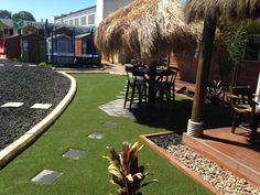 Fake grass on display at Aarons Outdoor Living - Your One Stop Shop to Transform Your Backyard http://www.aaronsoutdoor.com.au/synthetic-grass