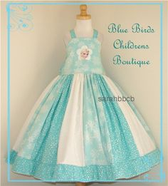 Disney FROZEN QUEEN Elsa Dress  BBCB Boutique      find this on etsy.com - - search:   BBCB  no custom orders please