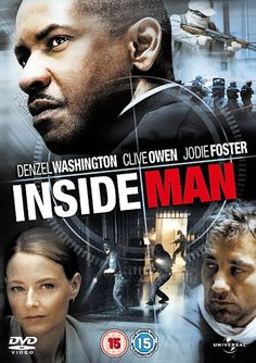 Inside Man [DVD]: Amazon.co.uk: Denzel Washington, Clive Owen, Jodie Foster, Christopher Plummer, Willem Dafoe, Chiwetel Ejiofor, Carlos Andres Gomez, Kim Director, James Ransone, Bernie Rachelle, Matthew Libatique: DVD & Blu-ray