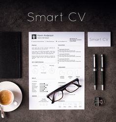Smart CV design. Find it on Etsy!