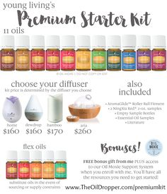 Here's your new Premium Starter Kit choices! Get yours today!