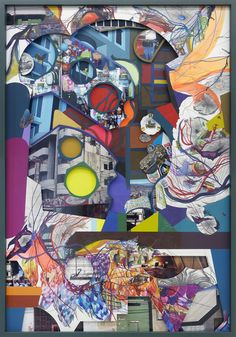 Find the latest shows, biography, and artworks for sale by Franz Ackermann. Franz Ackermann is a multimedia artist whose practice is entwined with the action… Mixed Media Collage, Collage Art, Sketchbook Assignments, Drawing Sketches, Drawings, Multimedia Artist, A Level Art, Gcse Art, Contemporary Paintings
