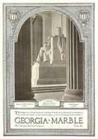 Georgia Marble Company 1928 Ad Picture