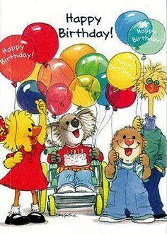 Suzy Ducken Kiley Koala Ollie Marmot and Friend Birthday