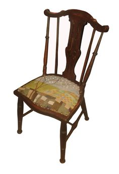 Applique & Patchwork Chair by Rustique Interiors