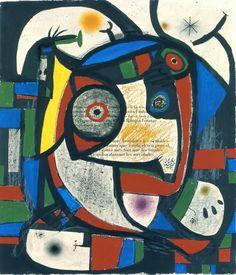 Composition, 1976   © ADAGP, Successió Miró, Courtesy Galerie Lelong Paris