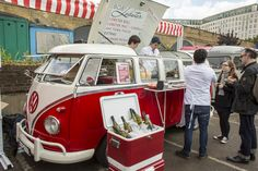 Volkswagen food truck. Bob's Lobster at 2013 Classic Car Boot Sale