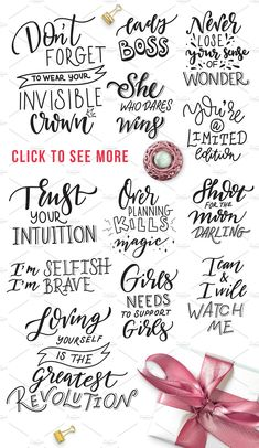 poster design software Girl power - lettering set by beauty drops on Calligraphy Quotes Doodles, Brush Lettering Quotes, Plotter Silhouette Portrait, Poster Design Software, Girl Power Tattoo, Creative Lettering, Letter Set, Bullet Journal Inspiration, Logo Inspiration