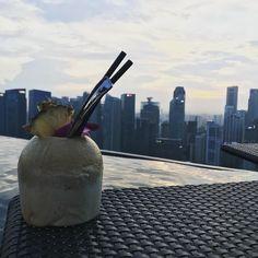 Views 🍹  .  Jour 1  .  #travelawesome#wanderlust#aroundtheworld#lovetravel#travellife#globetrotter#seetheworld#worldtraveler#blackandabroad#travelnoire#blackvoyageurs#blacktravelfeed#wanderluster#blacktravelers#blackgirltravel#canonphotography#canon#photography#travelblog#holidays#happytime#vacances#discover#frenchblogger#french#voyage#singapore#marinabaysands#singapour#skypark