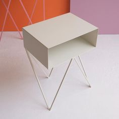 &new Robot Side Table-White | &new-robot-side-table-White | £359.00