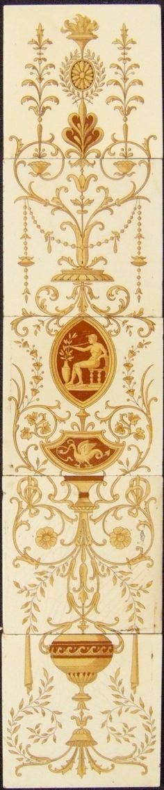 West Side Art Tiles - 4488n572p5 - English Tile>  --i want this for my bathroom