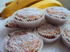 Банановые маффины (без яиц)