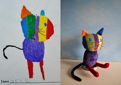 Elle transforme les dessins d'enfants en véritables peluches | Buzzly