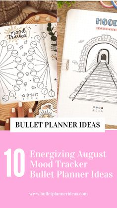 10 Energizing August Mood Tracker Bullet Planner Ideas - Feeling a little up and down lately and need help to keep track of how you are feeling? These 10 August mood trackers will keep track of how you're feeling. Click to read more.
