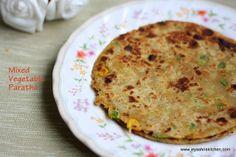 mixed veg paratha by Jeyashrisuresh, via Flickr