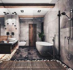 great minimalist modern bathroom ideas 36 ~ my.me great minimalist modern bathroom . Modern Bathroom Design, Bathroom Interior Design, Decor Interior Design, Interior Decorating, Decorating Ideas, Modern Bathrooms, Bathroom Designs, Decor Ideas, Bathroom Inspiration