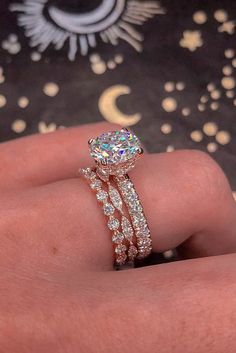 bridal sets rose gold wedding rings classic wedding rings diamond rings best rings solitaire rings rings 21 Amazing Bridal Sets For Any Style Engagement Ring Rose Gold, Popular Engagement Rings, Dream Engagement Rings, Wedding Rings Rose Gold, Designer Engagement Rings, Wedding Jewelry, Halo Engagement, Wedding Gold, Dream Wedding