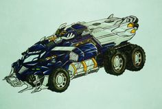 BFTE GALVATRON truck mode by kishiaku