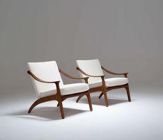 Love the shape. Arne Hovmand Olsen, Easy Chairs. If you like work like this…