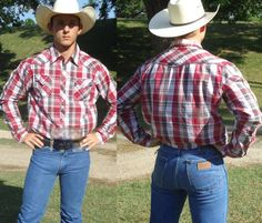 "thewranglerbutts: ""Wrangler The Sexiest Jeans Ever MadeWrangler Butts drive u… Hot Country Men, Cute Country Boys, Wrangler Jeans, Men In Tight Pants, Cowboys Men, Rodeo Cowboys, Real Cowboys, Scruffy Men, Cowboy Outfits"