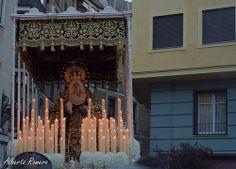 María Stma. Inmaculada Madre de la Iglesia - Procesión de los Estudiantes. Domingo de Ramos, Madrid 2014