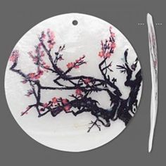 Don't know whether to get cherry blossom 'bracelet' tattoo around the wrist, or something like this, confined in a tattoo 'pendant'.