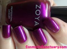 Zoya Fall 2013 Satin Collection Swatches and Review