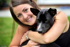 Elise Dixie, 26, paid £3,000 to fly two-month-old mongrel Snooky back to the UK after finding him as a tiny, very sick puppy in Cambodia. Chapeau Elise!
