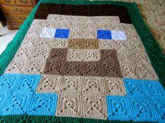 Minecraft Inspired Steve Blanket | eBay