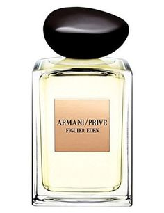 Armani Privé Figuier Eden - Penelope loves the edgy masculine-feminine scent but she was really attracted to the organic shape of the bottle.