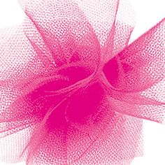 This wide nylon tulle comes in a 25 yard roll. It is stiff enough to hold its shape, but soft enough to still be delicate. Great for gift package bows and crafts. Tulle Rolls, Pink Tulle, Gift Packaging, Special Events, Hot Pink, Wedding Decorations, Delicate, Bows, Shapes