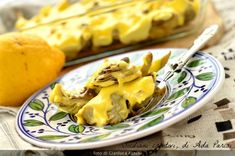 Carciofi con la maionese - SICILIANI CREATIVI IN CUCINA Mashed Potatoes, Dairy, Cheese, Ethnic Recipes, Antipasto, Food, Contouring, Whipped Potatoes, Smash Potatoes