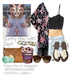 """Sunny day with Zayn."" by welove1 ❤ liked on Polyvore featuring Marie Meili, MANGO, Levi's, Mantaray, Topshop, With Love From CA, women's clothing, women, female and woman"