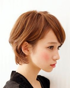 I want to get my hair to this stage Girl Short Hair, Short Hair Cuts, Short Bob Hairstyles, Pretty Hairstyles, Shot Hair Styles, My Hairstyle, Asian Hair, Face Hair, Great Hair
