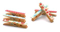 Washi Tape Pegs | 10 Ways To Get Decorative With Washi Tape