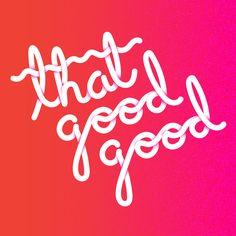 Goodie - design, typography, goodgood - timsingleton | ello