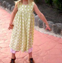 Kleid aus Bettbezug / Dress made of bed linen