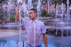 L'Essentiel de la Coiffure Blog: Shooting avec Chris  photos: Laurent Micas modèle: Christophe Marian