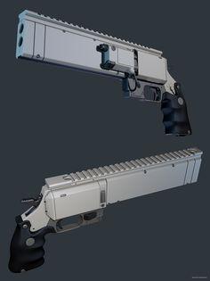 ArtStation - revolver, Maxim Perchun